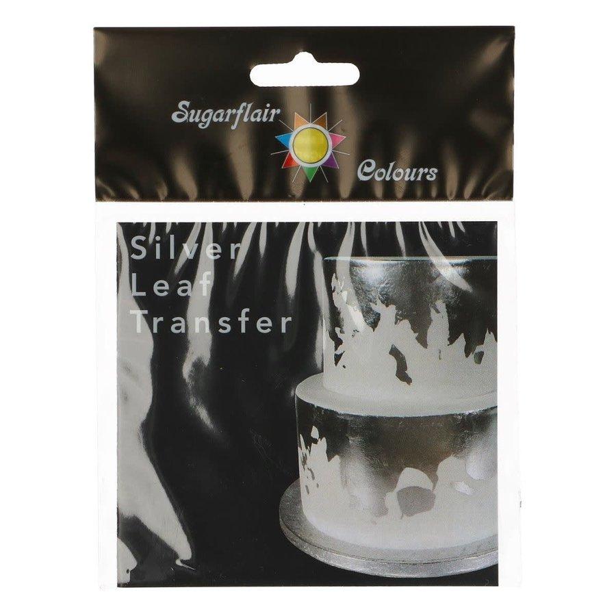 Sugarflair zilver transfer 1 sheet-2