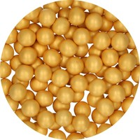 thumb-FunCakes Candy Choco Parels Large goud 70 g-2