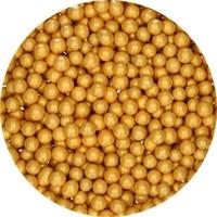 thumb-FunCakes Candy Choco Parels Medium Goud 80 g-2