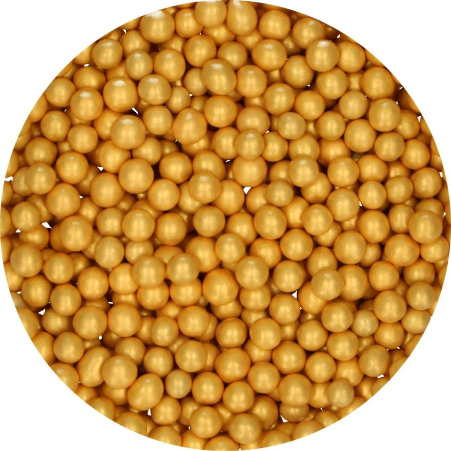 FunCakes Candy Choco Parels Medium Goud 80 g-2