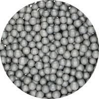 thumb-FunCakes Candy Choco Parels Medium zilver 80 g-2
