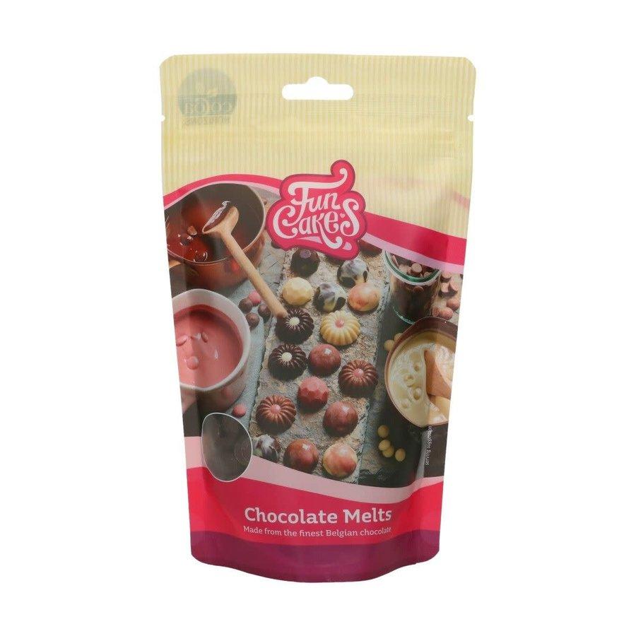 FunCakes Chocolade Melts puur -350g--1