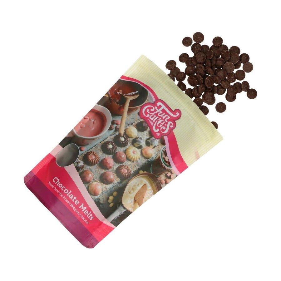 FunCakes Chocolade Melts puur -350g--2