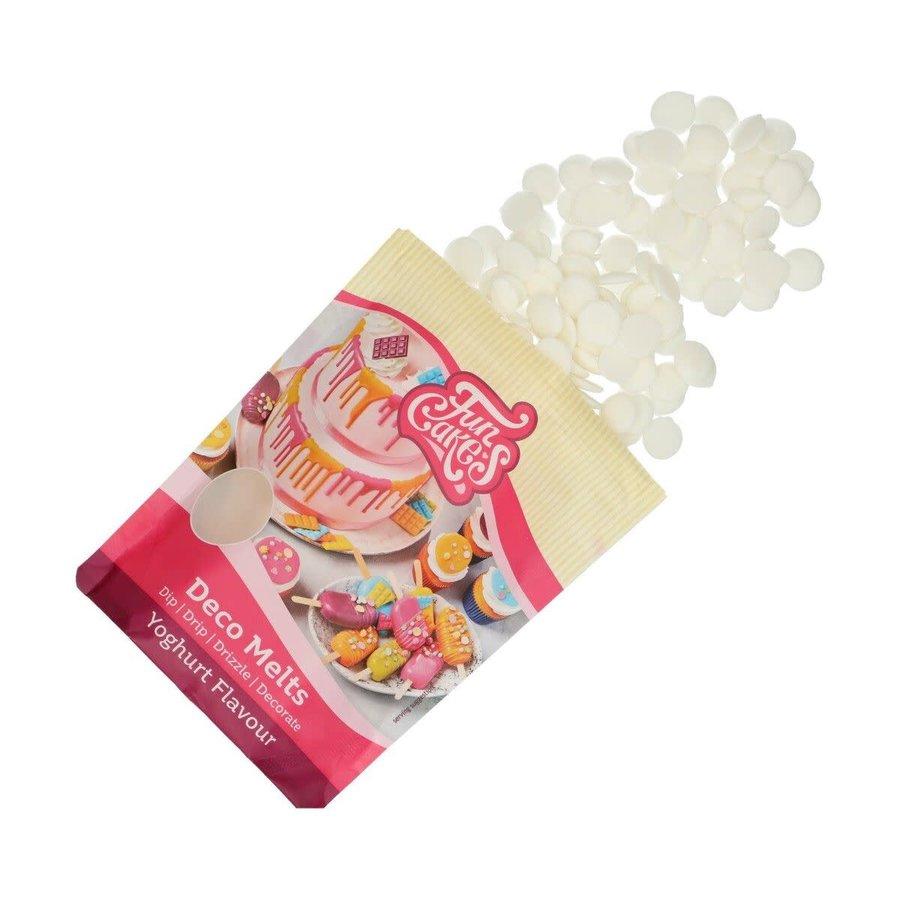 FunCakes Deco Melts Yoghurt Smaak 250g-1
