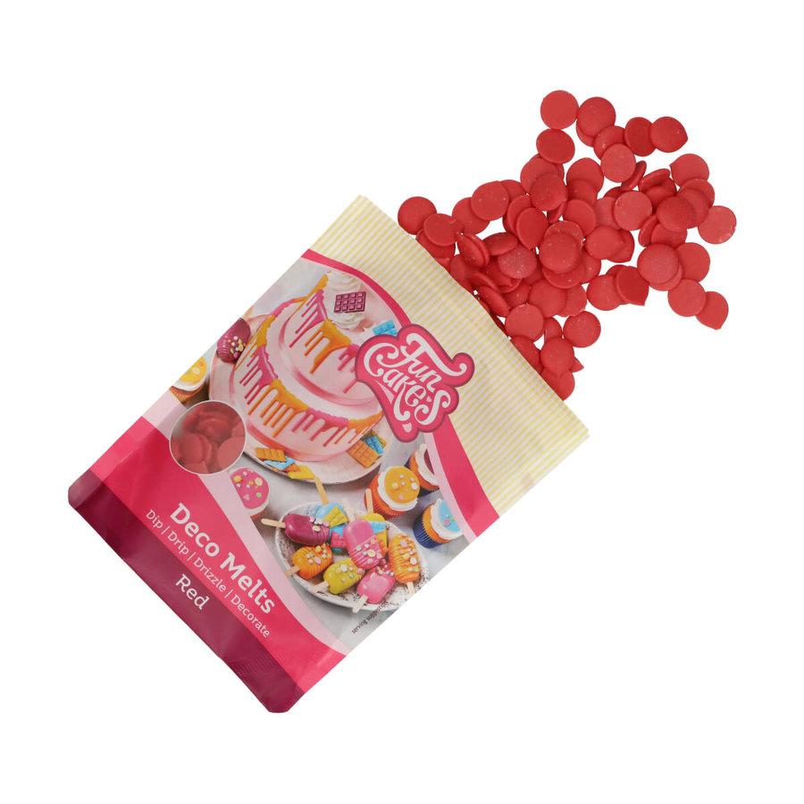 FunCakes Deco Melts -rood- 250g-4
