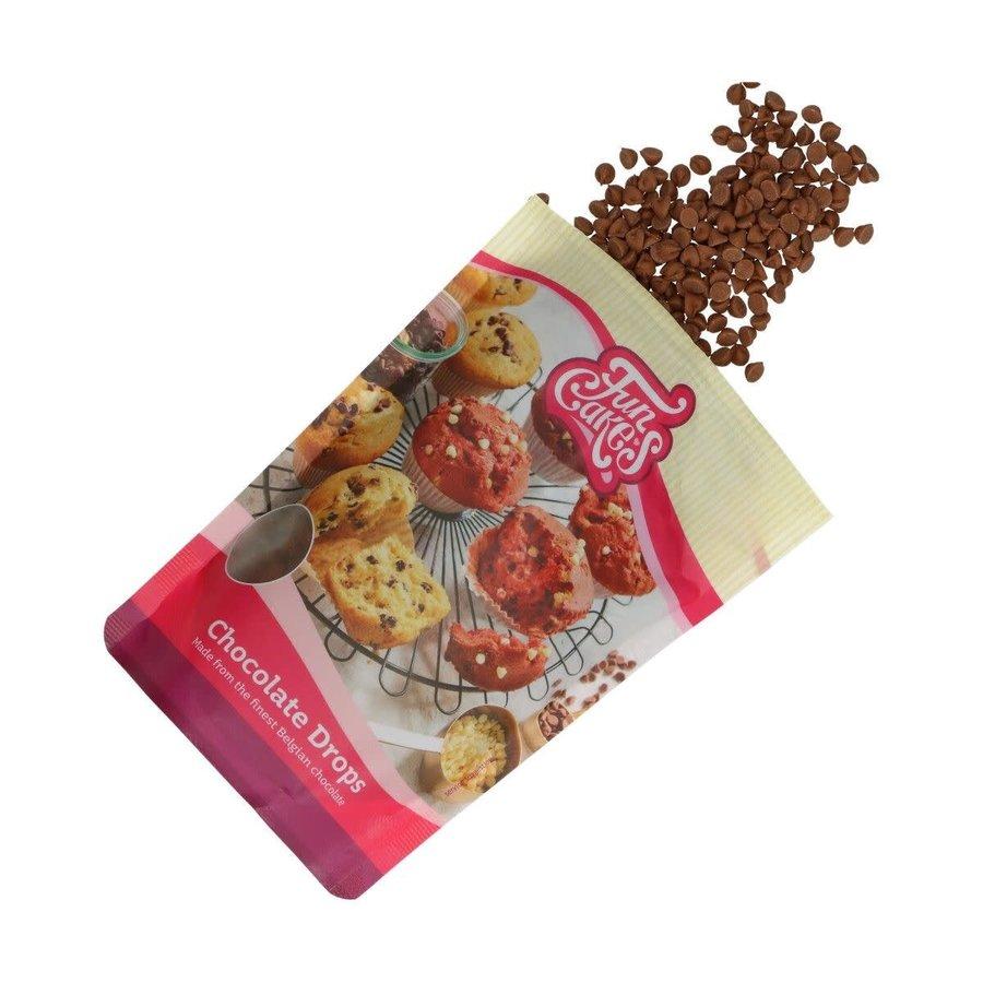 FunCakes Chocolade Drops melk -350g--1