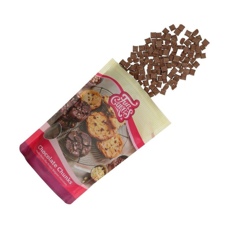 Chocolade Chunks melk -350g--1