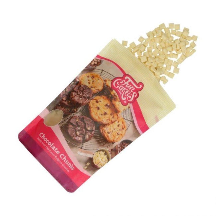 FunCakes Chocolade Chunks wit -350g--1