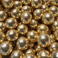thumb-Crispy chocolade ballen vintage goud 100gr-2