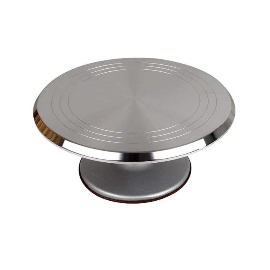 Draaitafel aluminium antraciet-1