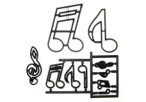 Patchwork Cutter Extra Large Music Notes muziek noten