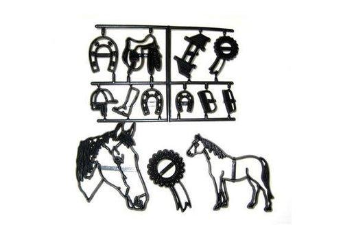Patchwork Cutter Horse paard set