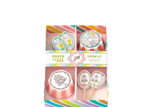 Jill - Cupcake set - Bakken - Decoratie