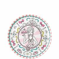Jill - Bord ⌀20 cm - Roze - Melamine