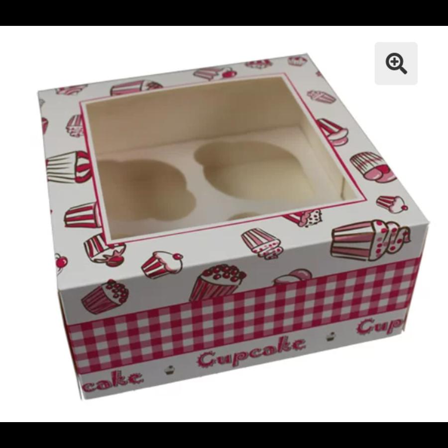 Cupcake doosje 4 cupcake print-1
