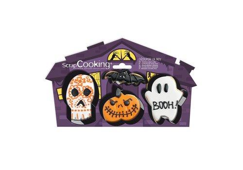 Scrapcooking Cookie Cutter Halloween Set/4