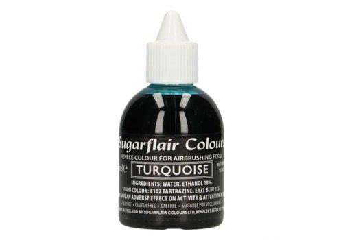 Sugarflair Airbrush Colouring - Turquoise - 60ml