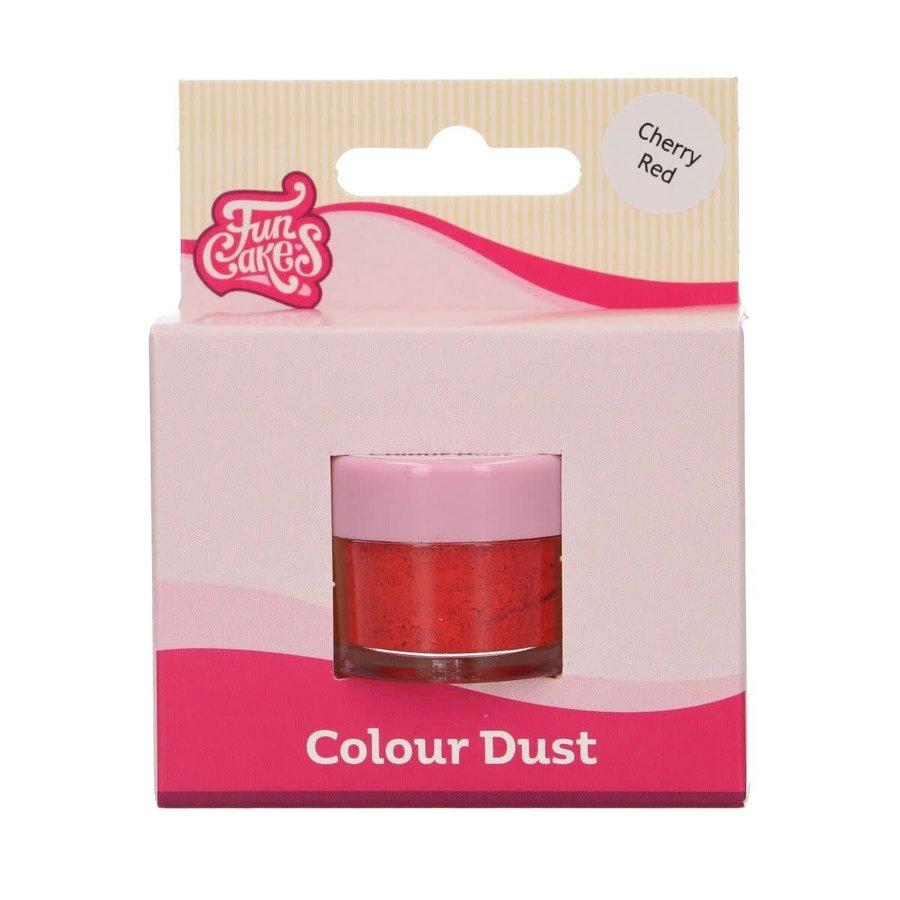 FunCakes Dust - Cherry Red-1