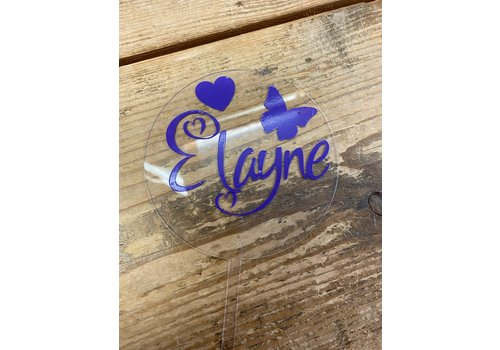 Personalized topper / Topper op maat