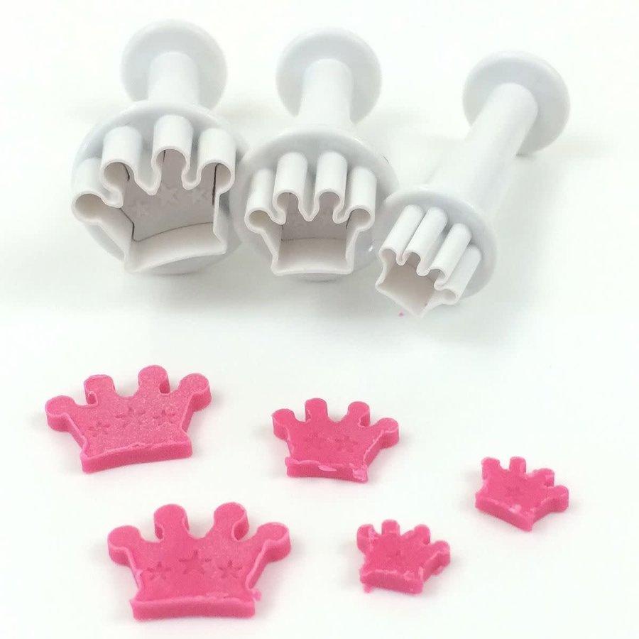 Dekofee Mini Plungers Crowns set/3-1