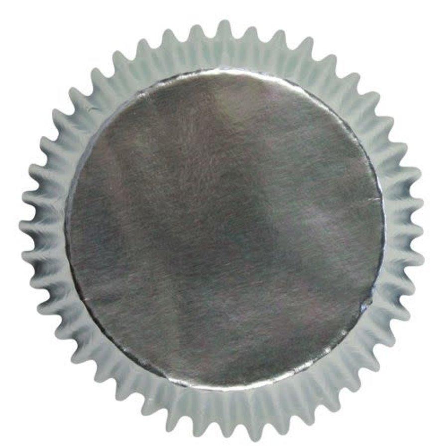 PME Mini Baking cups Silver pk/45-1