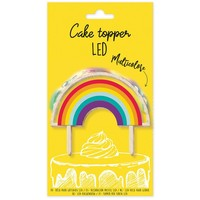 ScrapCooking Cake Topper Led Regenboog