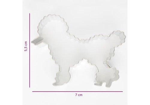 Koekjes Uitsteker Poedel 7 cm