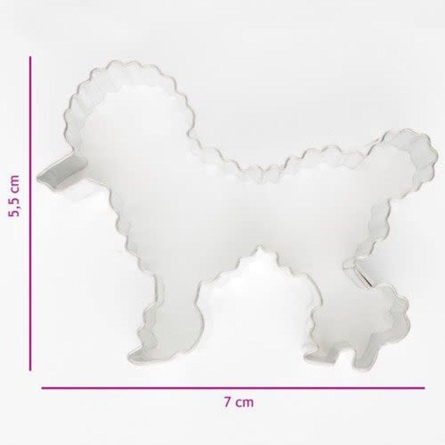 Koekjes Uitsteker Poedel 7 cm-1