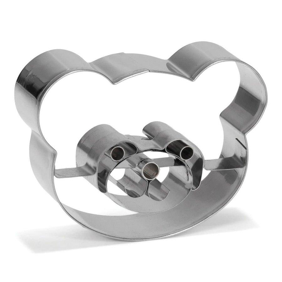 Patisse Koekjes Uitsteker Panda beer 8cm-1