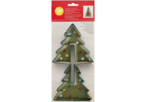 Wilton 3D Cookie Cutter Tree Set/2