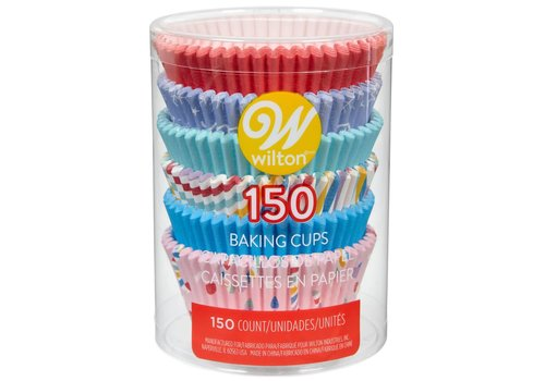 Wilton Baking Cups Holiday Mix pk/150