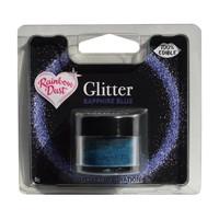 Rd edible glitter sapphire blue