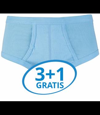 Beeren Heren Slip Met Gulp Blauw M3000 voordeelpack A