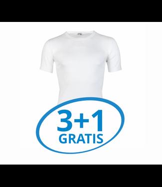 Beeren Heren T-Shirt Extra Lang M3000 Wit voordeelpack A