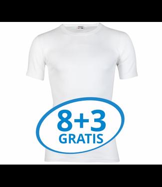 Beeren Heren T-Shirt M3000 Wit voordeelpack C