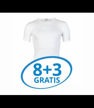 Beeren Heren T-Shirt Extra Lang M3000 Wit voordeelpack C