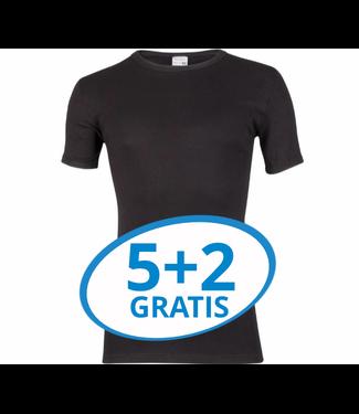 Beeren Heren T-Shirt Extra Lang M3000 Zwart voordeelpack B