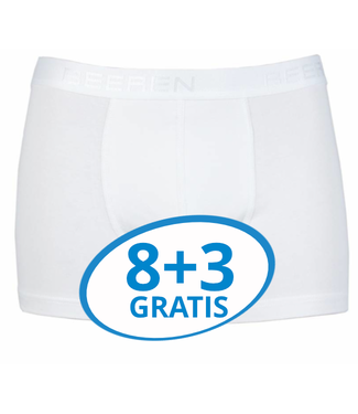 Beeren Heren Boxershort Rolf Wit Voordeelpack C