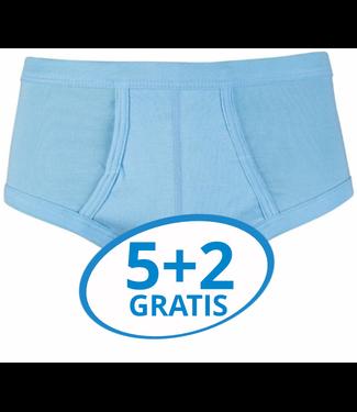 Beeren Heren Slip Met Gulp Blauw M3000 voordeelpack B