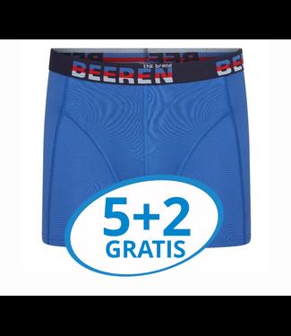 Beeren Heren Boxershort Elegance Blauw voordeelpack B