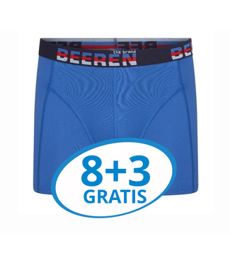 Beeren Heren Boxershort Elegance Blauw voordeelpack C