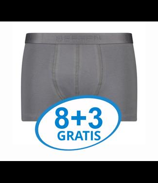 Beeren Heren Boxershort Rolf Grijs Voordeelpack C