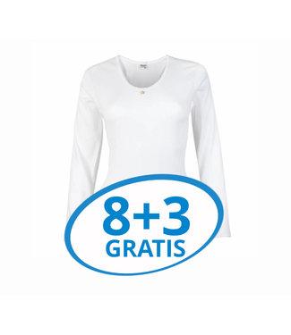 Beeren Dames Shirt Lange Mouw M3000 Voordeelpack C