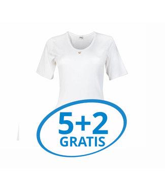 Beeren Dames T-Shirt M3000 Wit Voordeelpack B