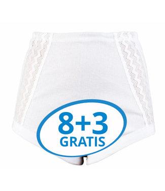 Beeren Dames Tailleslip Anita Wit Voordeelpack C