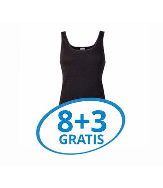 Beeren Dames Hemd Madonna Zwart Voordeelpack C