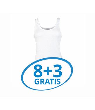 Beeren Dames Hemd Madonna Wit Voordeelpack C