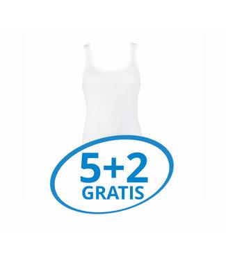 Beeren Dames Hemd Carola Wit Voordeelpack B