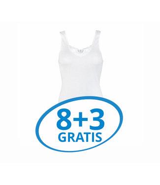 Beeren Dames Hemd Brenda Wit Voordeelpack C