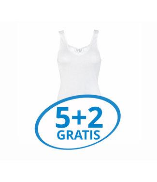 Beeren Dames Hemd Brenda Wit Voordeelpack B
